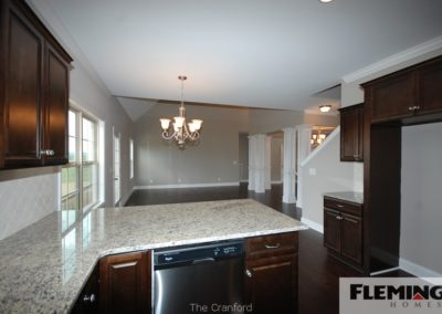Cranford Model - Kitchen - Breakfast Room